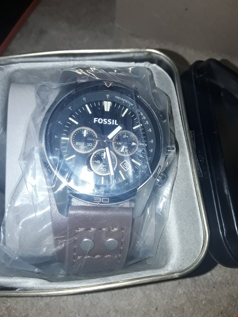 Lot 9245 FOSSIL GENTS CHRONORAPH CUFF WATCH RRP £179.00