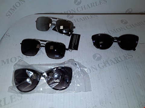 Lot 15079 LOT OF 4 ASSORTED DESIGNER SUNGLASSES TO INCLUDE RADLEY LONDON AND STORM