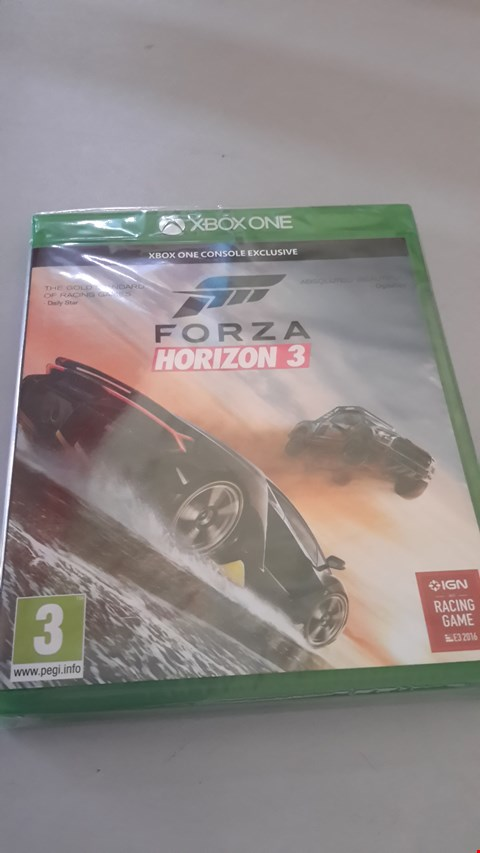 Lot 9052 FORZA HORIZON 3 FOR XBOX ONE