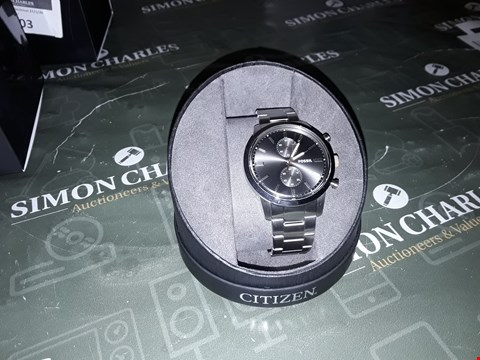 Lot 2004 FOSSIL FOSSIL BLACK CHRONOGRAPH DIAL STAINLESS STEEL BRACELET MENS WATCH RRP £158.00