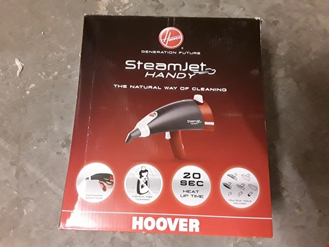Lot 643 HOOVER STEAM JET HANDY STEAMER