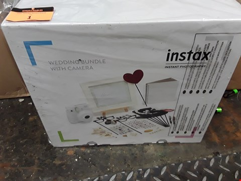 Lot 1 GRADE 1 INSTAX WEDDING BUNDLE + MINI 9 WHITE CAMERA  RRP £189.00