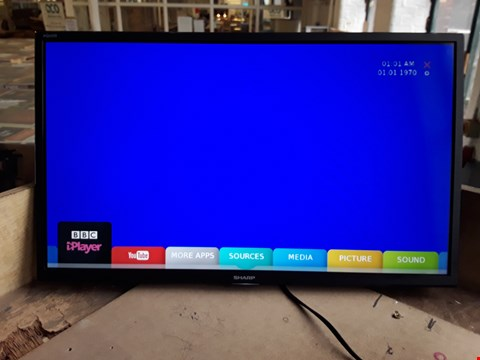 "Lot 12 SHARP 24"" FULL HD TV/DVD COMBI model LC-24DHG6131K"