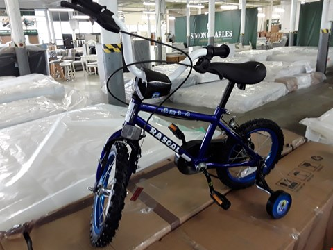 Lot 376 RASCAL CHILDS BIKE WITH STABILISERS
