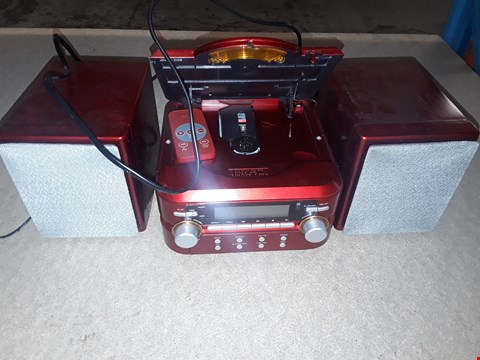 Lot 2067 BOXED EGL RED CD MICROSYSTEM