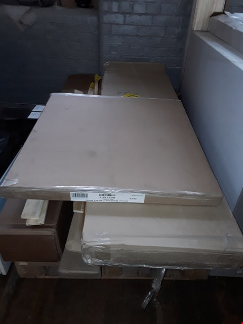 Lot 3056 PALLET OF ASSORTED FLAT PACK FURNITURE/PARTS
