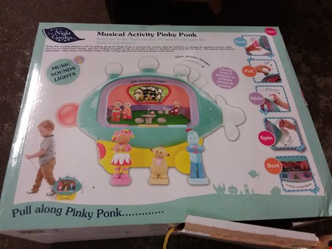 Lot 9 IN THE NIGHT GARDEN MUSICAL ACTIVITY SET