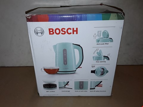 Lot 8008 BOXED BOSCH 3000W 1.7L KETTLE - MINT