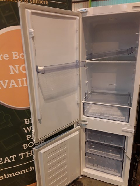 Lot 1079 BEKO 7030 INTEGRATED TALL FRIDGE FREEZER
