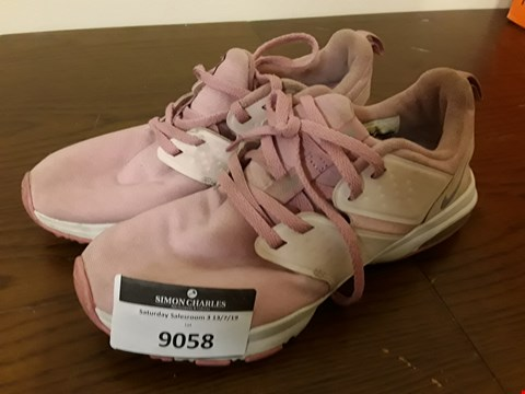 Lot 9058 PAIR OF PINK NIKE TRAINERS - UK SIZE 4