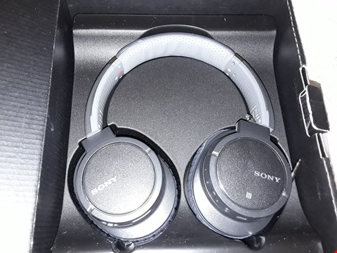 Lot 4045 SONY MDRZX770 BN WIRELESS HEADPHONES