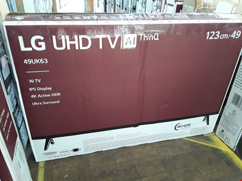 "Lot 1070 LG 49"" UHD 4K HDR SMART LED TELEVISION MODEL 49UK6300PLB RRP £900.00"