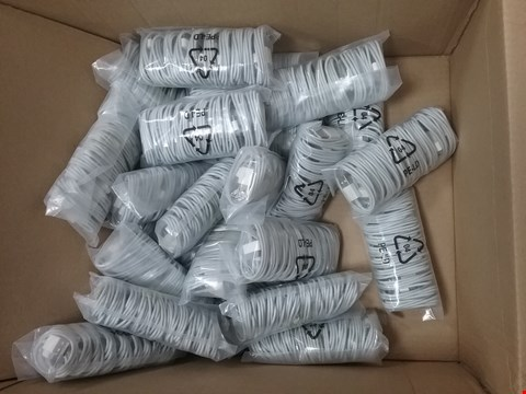 Lot 12034 A BOX OF APPROXIMATELY 12 BAGGED EXSTENSION CABLES