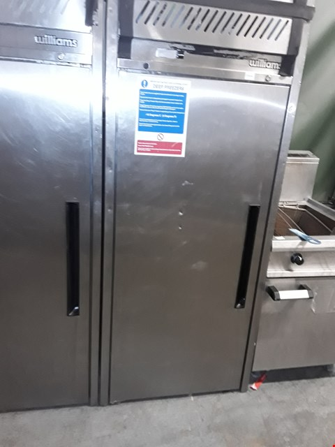 Lot 10 COMMERCIAL STAINLESS STEEL WILLIAMS FREEZER MODEL NO LJ1SA