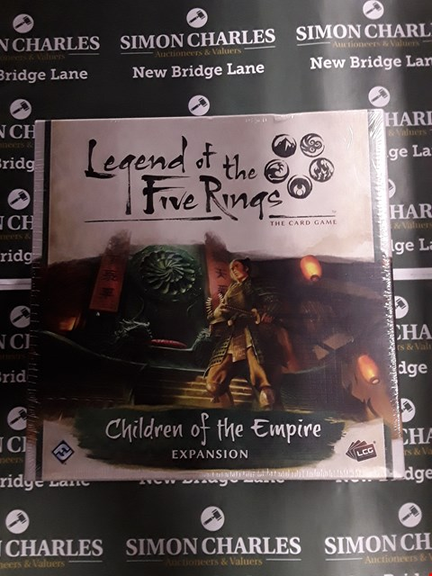 Lot 732 BOXED LEGEND OF THE FIVE RINGS THE CARD GAME CHILDREN OF THE EMPIRE EXPANSION PACK
