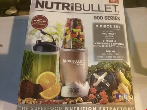 Lot 2757 NUTRIBULLET 900 SERIES BLENDER