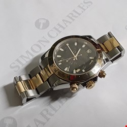 Lot 2006 UNBOXED GOLD AND SILVER LOOK DESIGNER WATCH