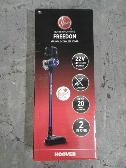 Lot 8300 HOOVER FREEDOM VACUUM CLEANER