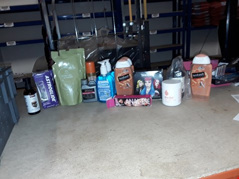 Lot 8055 A LOT OF APPROXIMATELY 20 ASSORTED COSMETICS TO INCLUDE,  CLARITY HANDWASH , BIO OIL DRY SKIN GEL AND SAMAR ORGANIC CASTOR OIL ETC