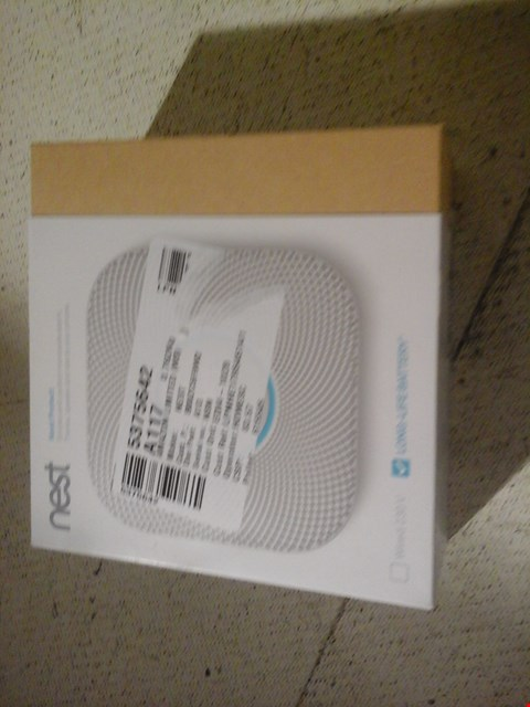 Lot 2 NEST A13 SMOKE ALARM