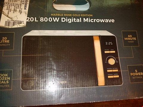 Lot 8115 TOWER T24021WMRG DIGITAL SOLO MICROWAVE