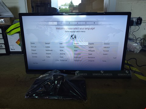 "Lot 154 BOXED LUXOR 24"" HD READY FREEVIEW SMART LED TV RRP £149.99"