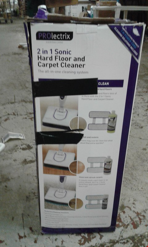 Lot 3 PROLECTRIX 2IN1 HARD FLOOR & CARPET CLEANER