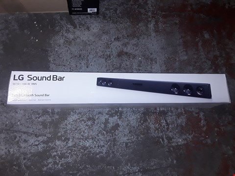 Lot 1395 LG 2 CH BLUETOOTH SOUNDBAR