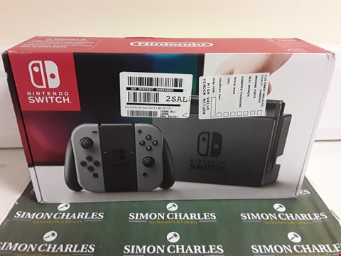 Lot 1280 NINTENDO SWITCH CONSOLE- GREY