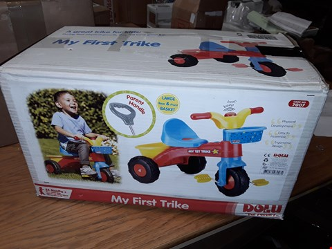 Lot 62 BOXED GRADE 1  DOLU MY FIRST TRIKE RRP £31.99