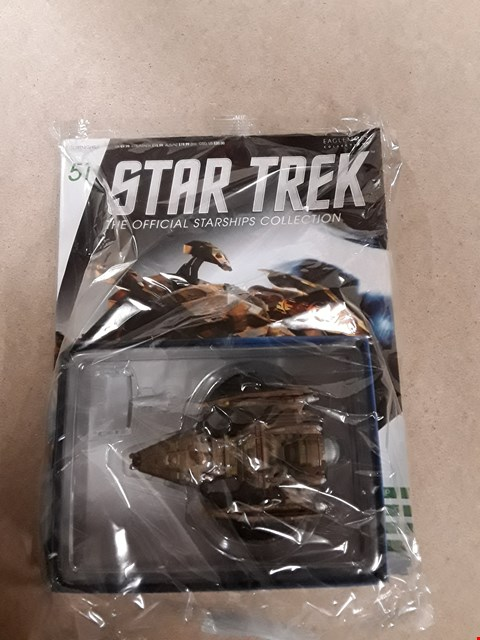 Lot 6154 STAR TREK THE OFFICIAL STARSHIPS COLLECTION ISSUE 51