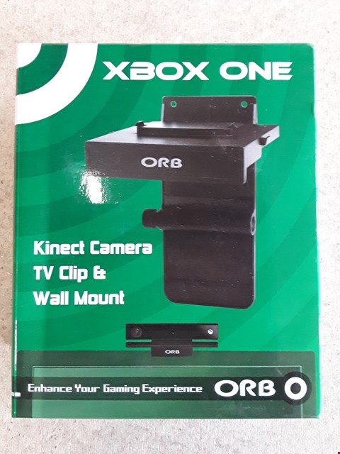 Lot 113 BRAND NEW BOXED ORB XBOX ONE KINECT CAMERA TV CLIP AMD WALL MOUNT
