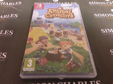 Lot 1204 ANIMAL CROSSING: NEW HORIZONS NINTENDO SWITCH GAME