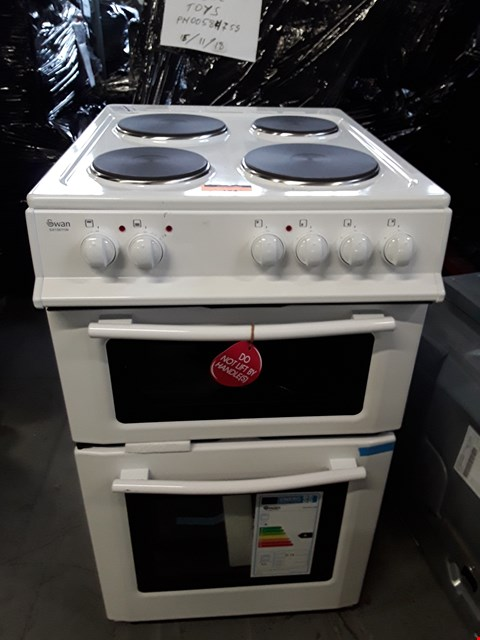 Lot 184 SWAN WHITE DOUBLE OVEN COOKER
