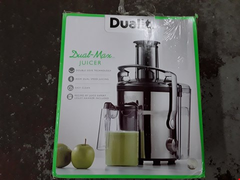 Lot 313 DUALIT DUAL MAX JUICER