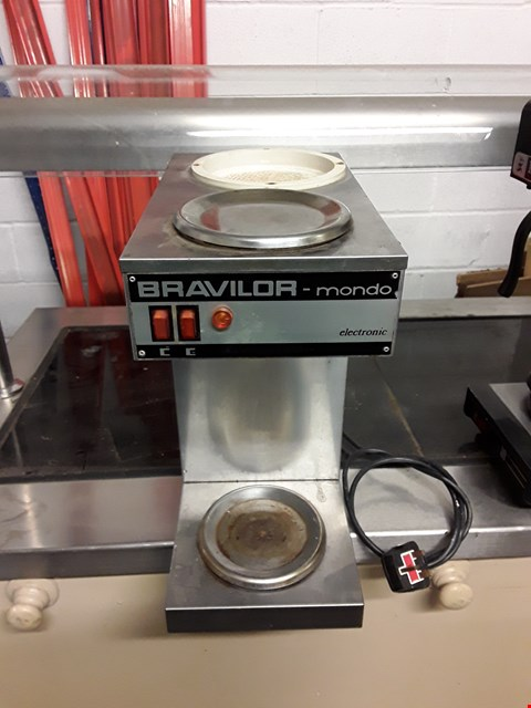 Lot 2006 BRAVILOR MONDO ELECTRONIC COFFEE MACHINE
