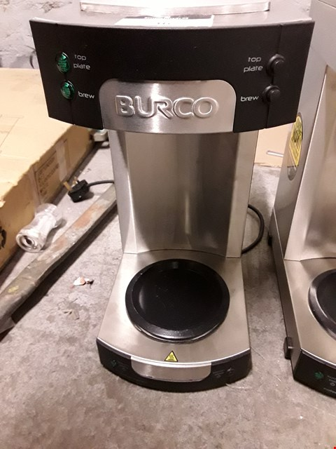 Lot 34 BURCO CFFMFST 78501 - 444448558 3.4L CAPACITY MANUAL FILL FILTER COFFEE MAKER  RRP £230