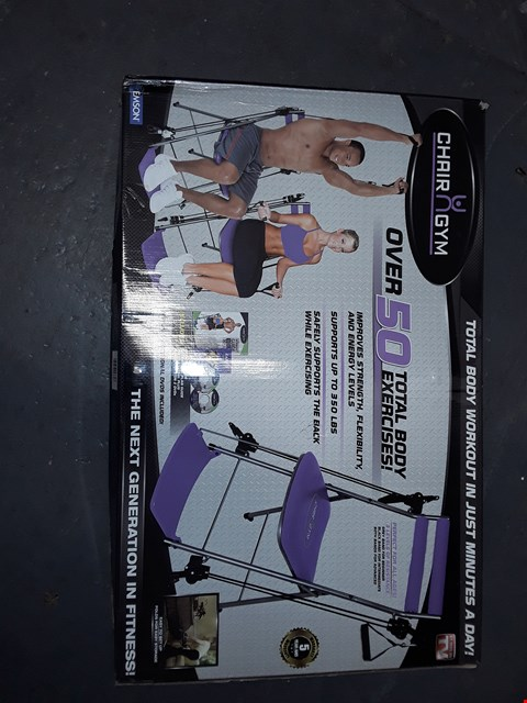Lot 5320 CHAIR GYM TOTAL BODY EXERCISE PURPLE