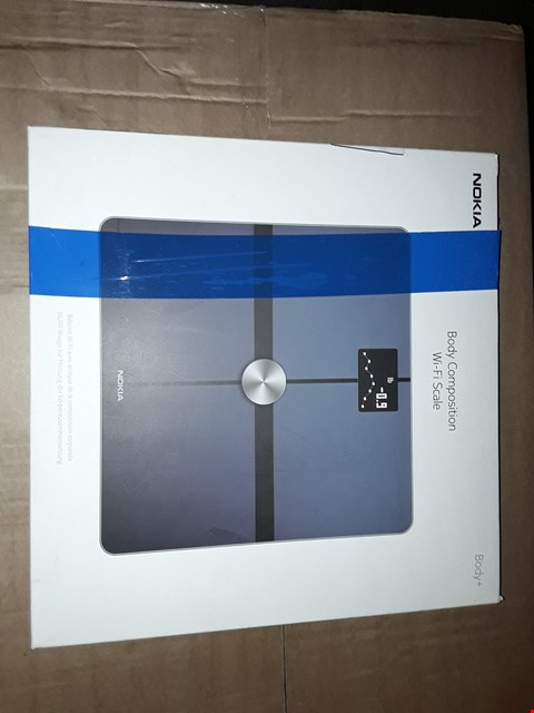 Lot 8071 NOKIA BODY+ – BODY COMPOSITION WI-FI SCALE, BLACK