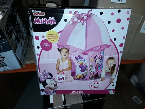 Lot 7682 BOXED GRADE 1 DISNEYMINNIE MOUSE PLAY HOUSE RRP £31.99