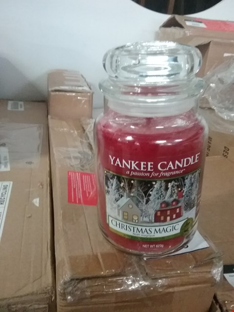 Lot 2860 BRAND NEW YANKEE CANDLE CLASSIC LARGE JAR  RRP £14