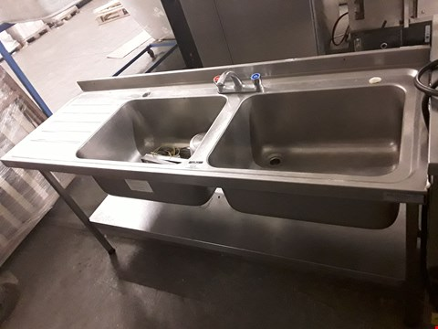 Lot 9039 DOUBLE SINK UNIT