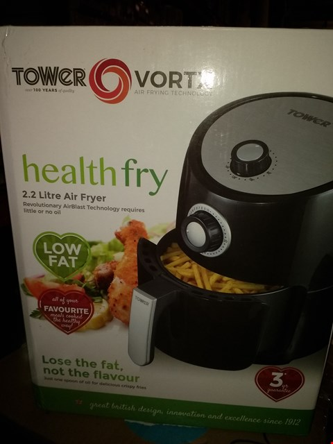 Lot 2037 TOWER HEALTH FRY 2.2L