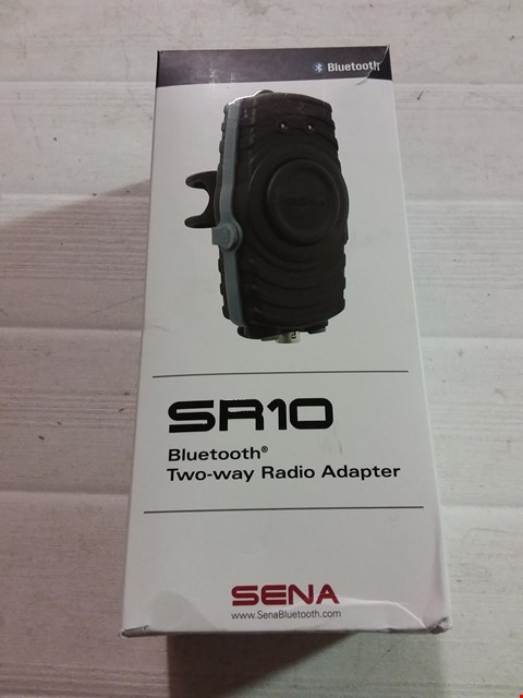 Lot 12172 SENA SR10 BLUETOOTH TWO-WAY RADIO ADAPTER