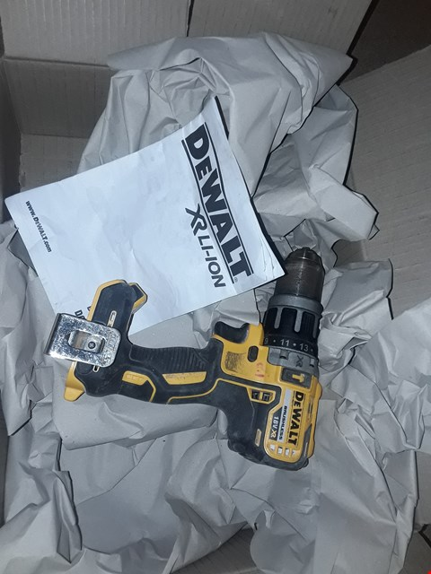Lot 1644 DEWALT DCD796N 18V XR LI-ION BRUSHLESS COMPACT COMBI HAMMER DRILL BARE UNIT
