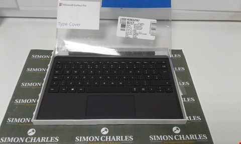 Lot 6020 MICROSOFT SURFACE PRO TYPE COVER