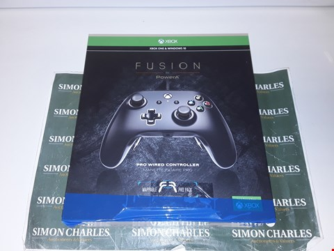 Lot 17567 POWERA FUSION PRO WIRED CONTROLLER FOR XBOX ONE, ONE S AND ONE X