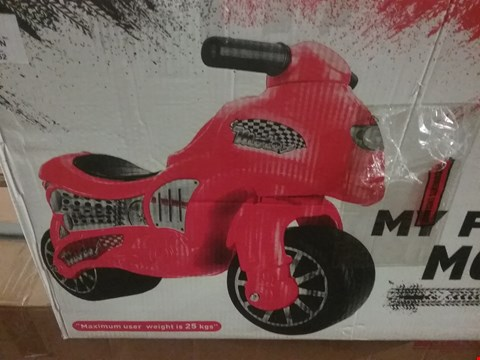 Lot 3440 BOXED MY FIRST MOTO RRP £37.99