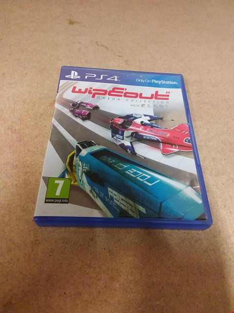 Lot 8205 WIPEOUT OMEGA COLLECTION PS4 GAME
