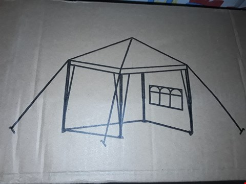 Lot 161 3 X 3M POP UP GAZEBO WITH 3 PIECE SIDE PANELS RRP £200